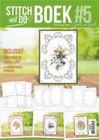 Stitch and Do STDOBB005 A6 Boek 5 Flowers Marieke & Jeanine