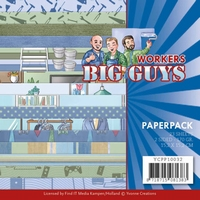 Yvonne Big Guys Workers YCPP10032 Paperpack