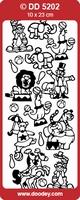 Sticker Kind Doodey DD5202 Circus