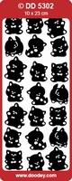 Sticker Kind Doodey DD5302 Kitten