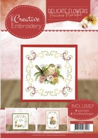 Marieke Delicate Flowers CB10014 Creative Embroidery 14