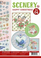 Push Out book Scenery 4 POS10004 Happy Christmas