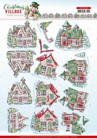Yvonne Christmas Village 3D Knipvel CD11540 Houses