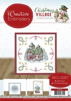 Yvonne Christmas Village CB10016 Creative Embroidery 16