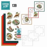 Stitch and Do borduursetje STDO139 Christmas Animals