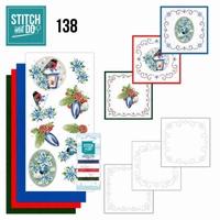 Stitch and Do borduursetje STDO138 Christmas Lantern