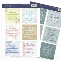 Jeanine's Art Sensitive Moments JATD1001 Tekst Designs