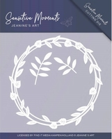 Jeanine's Art Sensitive Moments JAD10098 Leaf Circle