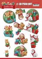 Amy Design Christmas Pets 3D Pushout SB10462 Presents