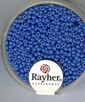 Rayher rocailles parelmoer 08 blauw