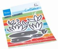 MD Craftables CR1515 Waterlelies by Marleen