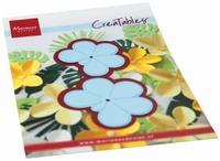 MD Creatables LR0666 Frangipani flower