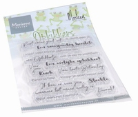 MD Clear Stamps CS1065 Opkikkers by Marleen
