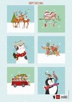 MD A4 Knipvel Els EWK1278 Happy Christmas