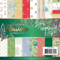 Jeanine's Art Christmas Flowers JAPP10016 Paperpack