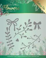 Jeanine's Art Christmas Flowers Dies JAD10106 Mistletoe