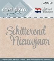 Card Deco Cutting Dies CDECD0039 Schitterend Nieuwjaar