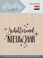 Card Deco Clear stamps CDECS014 Schitterend Nieuwjaar