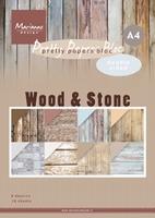 MD Pretty Paper Bloc PK9170 Wood stone