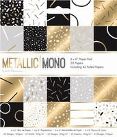 Paper Pad Papermania PMA 160515 Metallic Mono