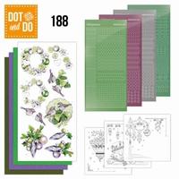 Dot and Do DODO188 Purple Christmas Baubles