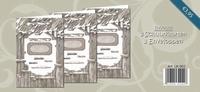 Creatief Art LK-002 3 Schuurkaarten