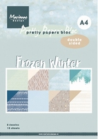 MD Pretty Paper Bloc PK9172 Frozen Winter
