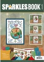 Sparkles Book A6 Amy Kerstdieren