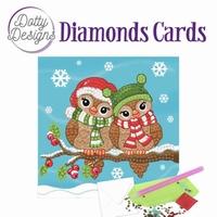 Dotty Designs Diamonds Cards DDDC1002 Birds - vogels