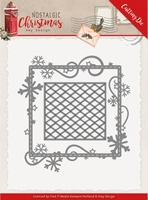 Amy Design Nostalgic Christmas Dies ADD10221 Snowflake Frame