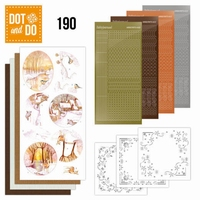 Dot and Do DODO190 Yellow Forest