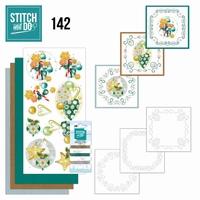 Stitch and Do borduursetje STDO142 Christmas Baubles