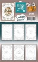 Stitch & Do Cards only A6 COSTDOA610006
