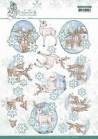 Yvonne Creations Winter Time 3D Knipvel CD11573 Deer