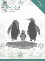 Yvonne Creations Winter Time Dies YCD10218 Penguins on Ice