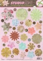 A4 Stansvel Studio Ligth EASYSL201 Bloemen flower shapes