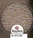 Rayher wasparels iris wit