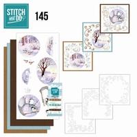 Stitch and Do borduursetje STDO145 Winter Landscape