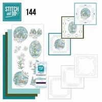 Stitch and Do borduursetje STDO144 Wintertime Edelweis