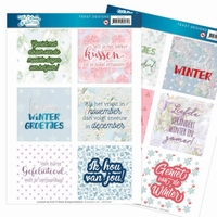 Jeanine The colours of winter JATD1003 Text Designs