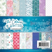 Jeanine The colours of winter JAPP10017 Paperpack