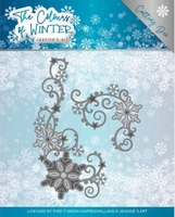 Jeanine The colours of winter Dies JAD10109 Winter Swirl