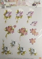 Marieke Design 3D PushOut SB10006 Bloemen