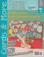 Tijdschrift Cards & More 4 sep/okt 2012 Vakantie herinnering