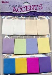 Darice Scrapbook accents bags pastel