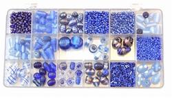 Glaskralen kit 202 Blauw