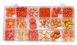 Glaskralen kit 333 Oranje