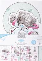 Me To You MTY 150901 Winter Wonderland A5 Glittercard kit