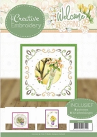 Jeanine's Art Welcome Spring CB10023 Creative Embroidery 23