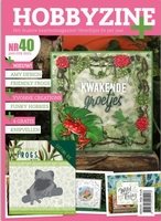 Hobbyzine Plus 40 + 4 gratis 3D knipvellen + Die ADD10230